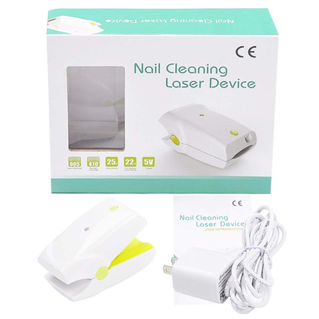 Nail Fungus Onychomycosis Laser Treatment Instrument Anti Fungal Laser Device Low Level Laser LLLT Toenails Home Use No Pain in Massage Relaxation from Beauty Health