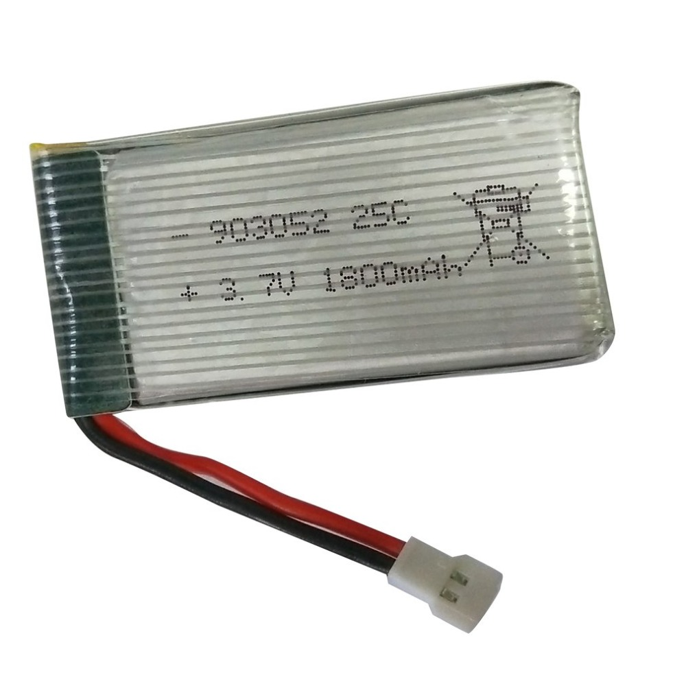 3.7v 1800mAh Lithium Battery For KY101S Drone 903052 25C Long Flight Time Lithium Polymer Rechargeable Battery Drone Accessories