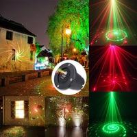 Kerst Laser Projector Outdoor Tuin Ster licht IP44 Waterdichte IR Afstandsbediening Tonen Rode Groene Laser Lichten RG December