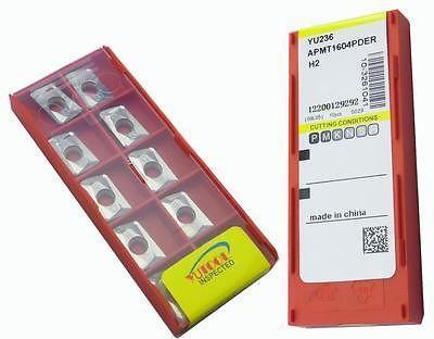 PROMOTION New 10PCS YUSING APMT1604PDER ALuminium Carbide Insert Milling cutter цена и фото