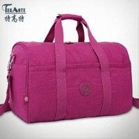 TEGAOTE Fashion Foldable portable shoulder bag waterproof travel bag Travel luggage large capacity Travel Tote men and women