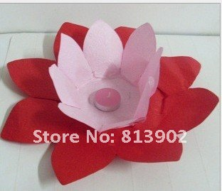 25pcslot two tone chinese paper flower lotus chinese wish lantern 25pcslot two tone chinese paper flower lotus chinese wish lantern water floating candle mightylinksfo