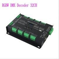 BC 632 32CH КТ/RGB RGBW dmx декодер DC5 24V RJ45 8 портов x 4CH высокое Мощность постоянной Напряжение DMX512 выход