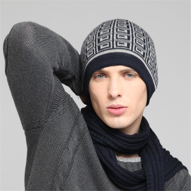 1bb8a0b5 Free Shipping Men's Winter Wool Hat, Best Selling Knitted Beanie Hat KM-1349