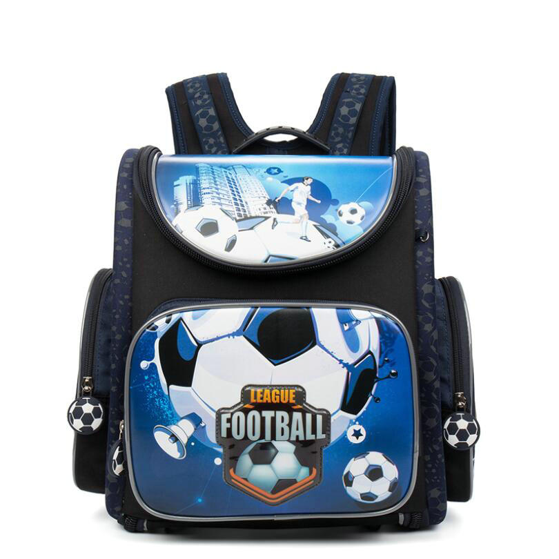 GRIZZLY Russia Kids Schoolbags for Boys Orthopedic Zipper Primary School Backpacks Children School Bags for Grade 1-4