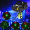 Free Shipping Wholesale High Quality New Blue Mini LED Laser Projector with Retail Box DJ Disco Bar Stage House Lighting