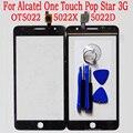 Сенсорный Датчик Для Alcatel One Touch Pop Star 3G Ot5022 OT 5022 5022X 5022D Сенсорный Экран Стекла Digitizer Передняя Внешний панели