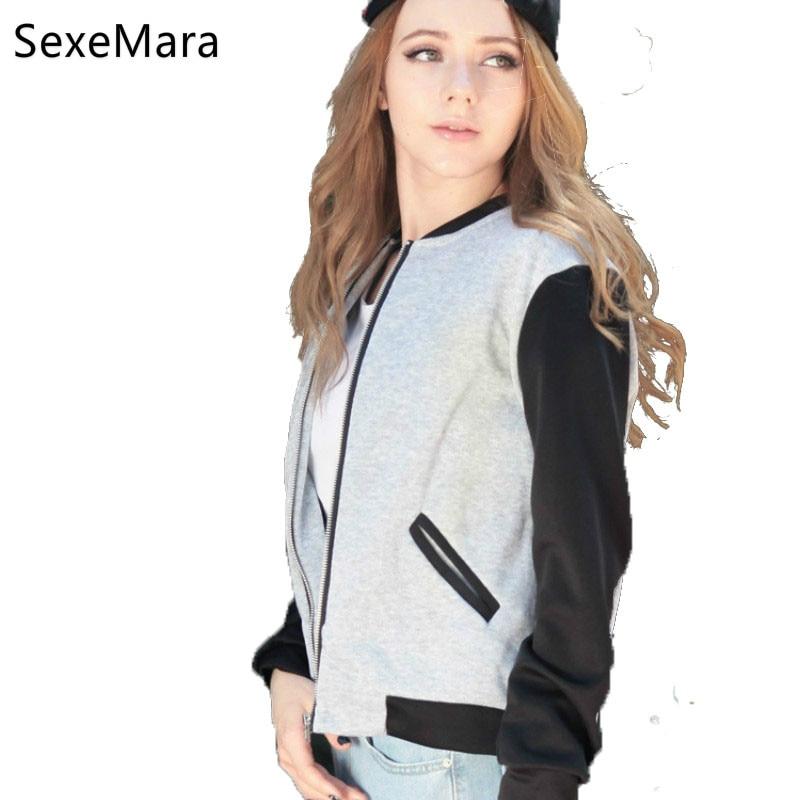 1PC font b Women b font Autumn Winter Fleece Cardigan Sweater Short Collar Jacket Contrast Color