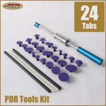 купить mini pdr pass through slide hammer stainless steel paintless dent removal tools kit car damage puller glue pulling tabs set дешево