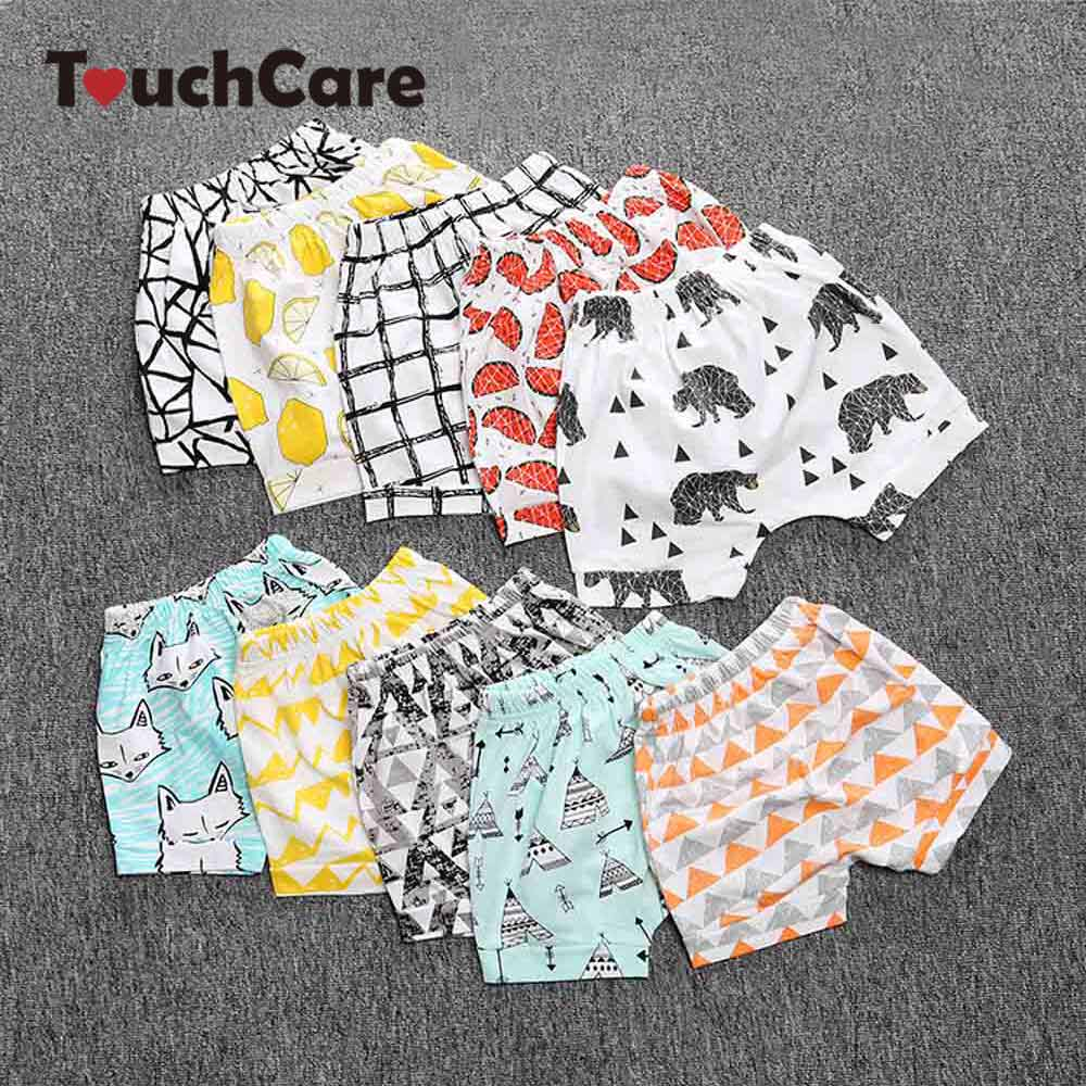 Clearance Summer Baby Shorts Cute Beach Shorts for Babies Baby Boy Girl Bllomers Fruit Styles Stripe Animal Fox Pattern Shorts