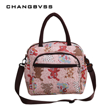 2017 New Fashion Mommy Diaper Bags Multifunctional Baby Shoulder Diaper Bag Nylon Waterproof Nappy Nursing Bag For Infant Care