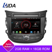 LJDA Android 9.1 Car dvd player for HYUNDAI HB20 2 Din Car Radio gps navigation stereo multimedia WIFI autoaudio Headunit 2+16