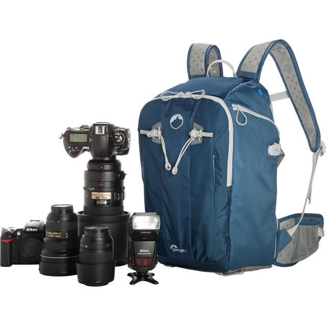 送料無料の卸売本物のロープロフリップサイドスポーツ 20L aw デジタル一眼レフ写真デイパックバックパックと全天候カバー