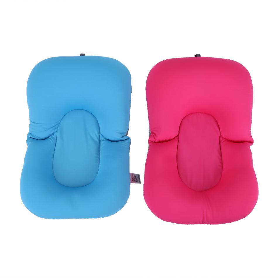 Infant Newborn Baby Bath Tub Pillow Pad Lounger Air