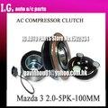FOR CAR MAZDA 3 2.0 COMPRESSOR CLUTCH 12V 5PK 100MM AUTO AC COMPRESSOR CLUTCH H12A1AJ4