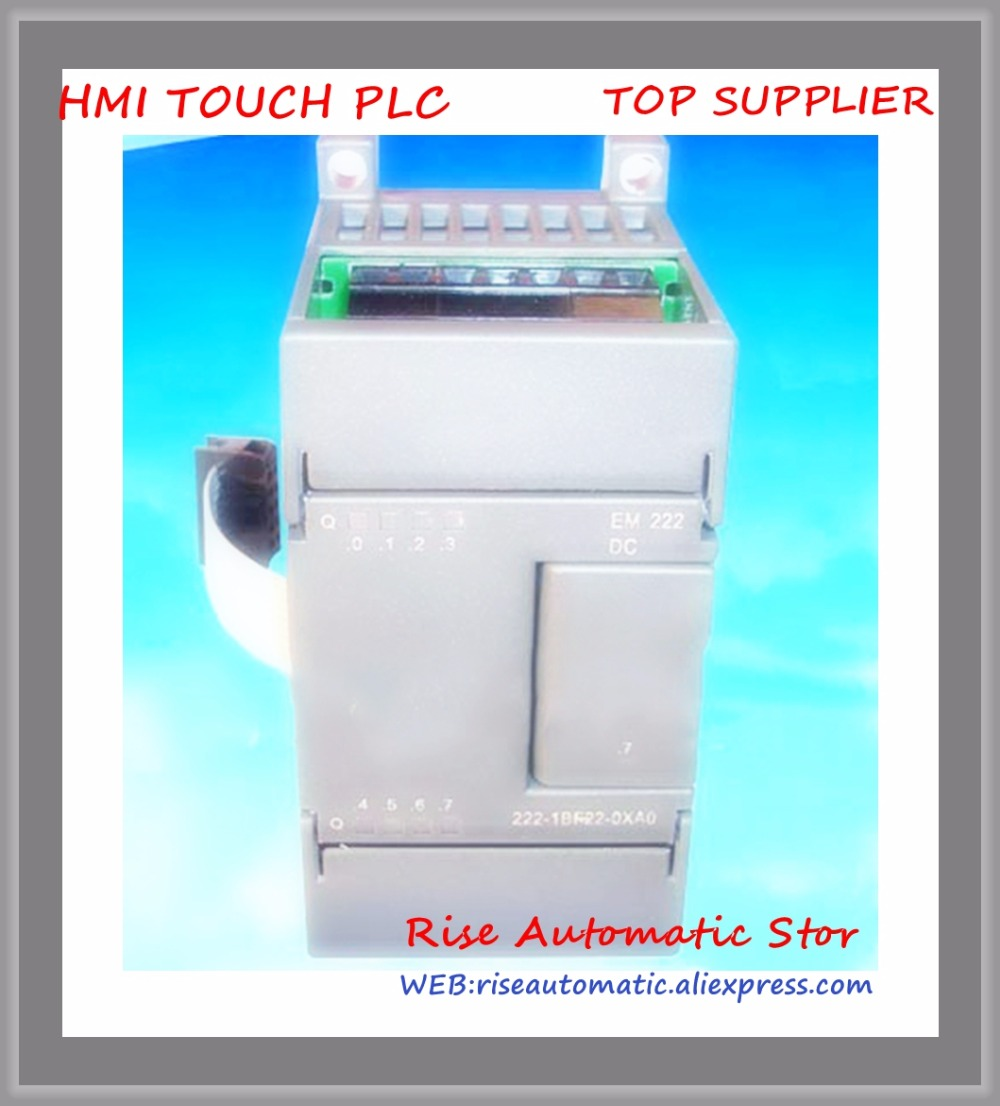 New Original 8channel relay output PLC switch expansion module EM222-RQ8 compatible with host replace s7-200 6ES7222-1HF22-0XA0 new original ap 8emr plc 8 digital input 8 relay output expansion module well tested working three months warranty