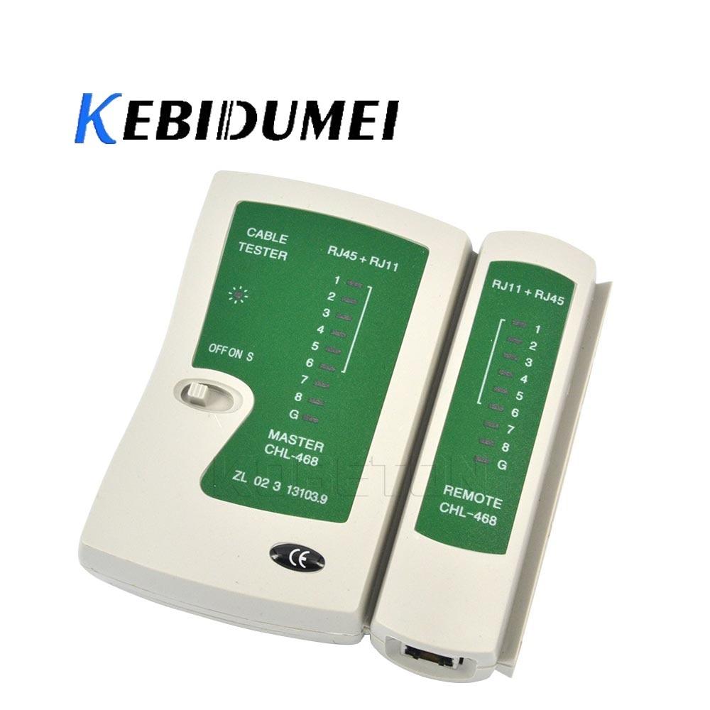 Kebidumei 2016 Лидер продаж, тестер сетевого кабеля Lan, Cat 5 / Cat 5e / Cat 6 / UTP кабели с RJ-11