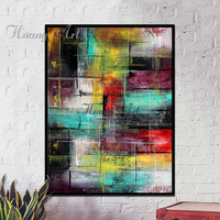 Hand Painted Oil Painting Abstract Modern Minimalist Style Paintings Decoration Living Room Wall Hanging Oil Painting