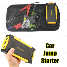 Mini portable car jump starter multi function power bank bateria battery 12V car charger auto start