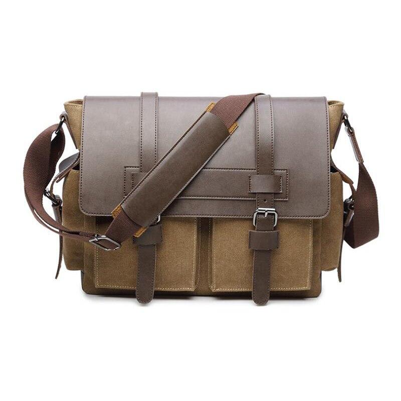 Mężczyźni Messenger torby męskie Crossbody torba dla mężczyzn płótnie torba moda torba na laptopa torba na ramię torba Bolsa Masculina sac homme wysokiej jakości w Torby z długim paskiem od Bagaże i torby na  Grupa 2