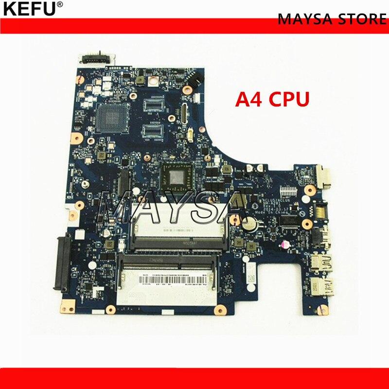 Новый ACLU5/ACLU6 NM-A281 REV: 1,0 материнской платы для lenovo G50-45 платы с A4 на борту Процессор DDR3 100% тестирование