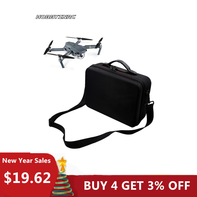 HOBBYINRC Professional Waterproof Drone Bag Outdoor Capming Handbag Portable Case Shoulder for DJI Mavic Pro drone x pro