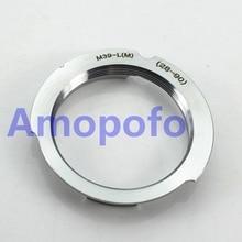 Amopofo M39-LM 28-90mm Adaptador para Leica M39 LSM LTM Lens para Leica M VM ZM Techart LM-EA7