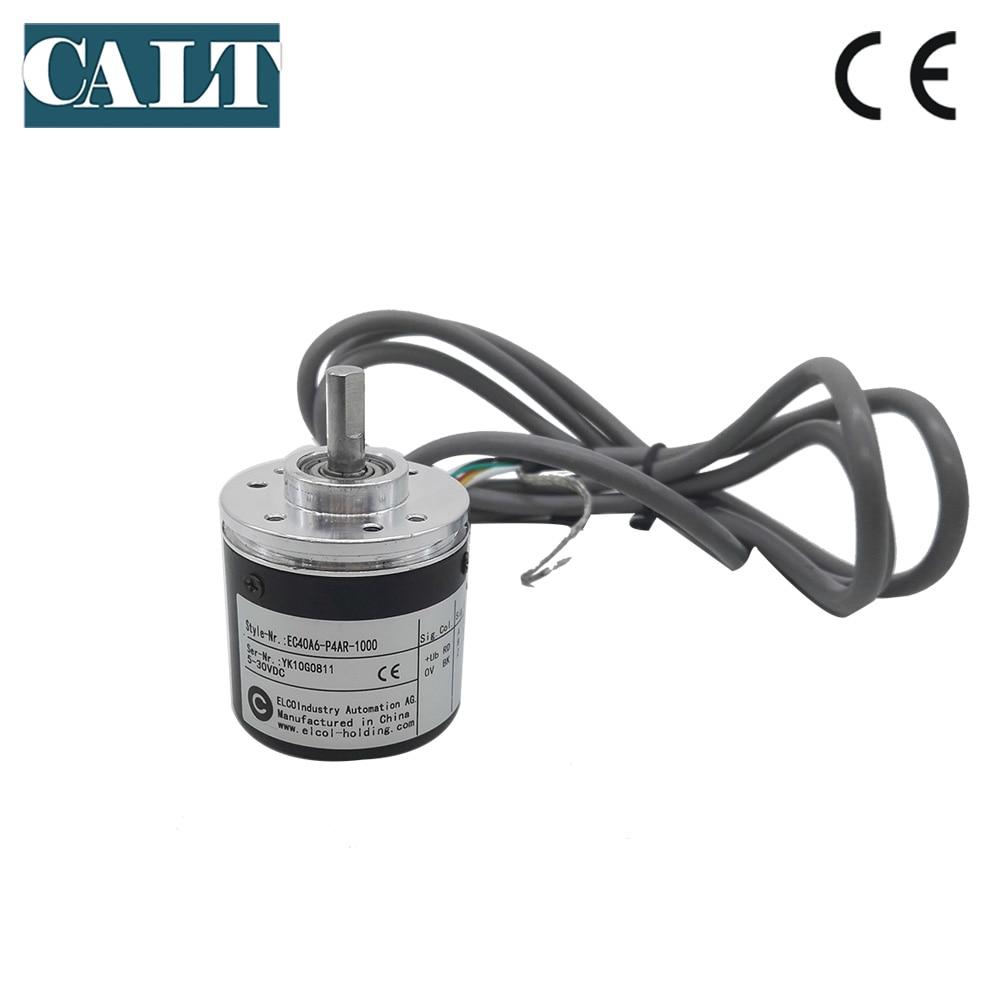 ELCO l'industrie compteur d'impulsions codeur EC40A6-P4AR-1000 EC40A6-P4IR-100 optique encodeur rotatif commutateur