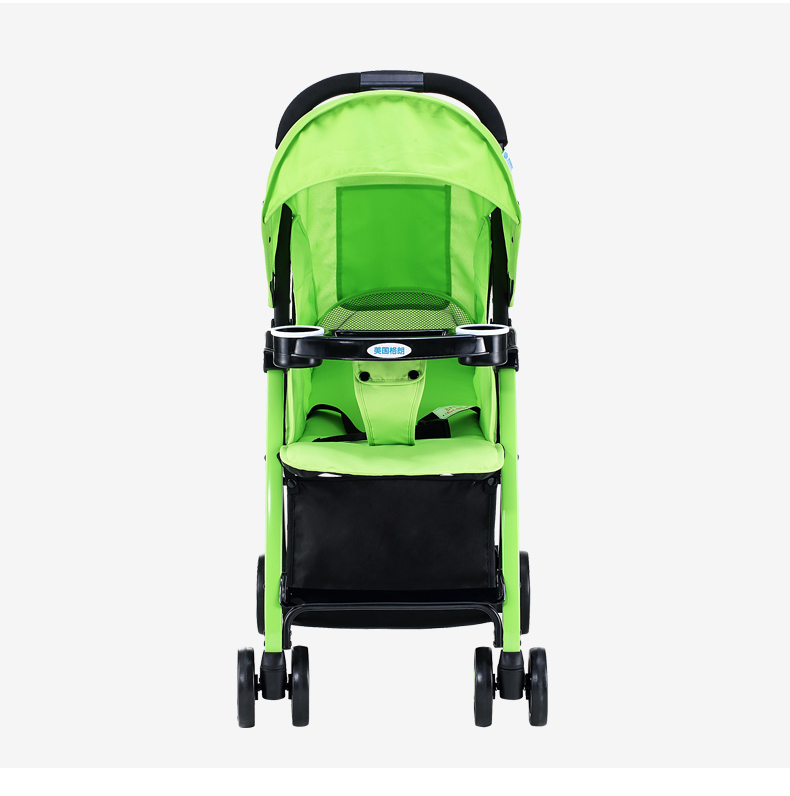 GL Baby Stroller Folding Umbrella Sit and Lie Portable Strong Alloy Steel Material