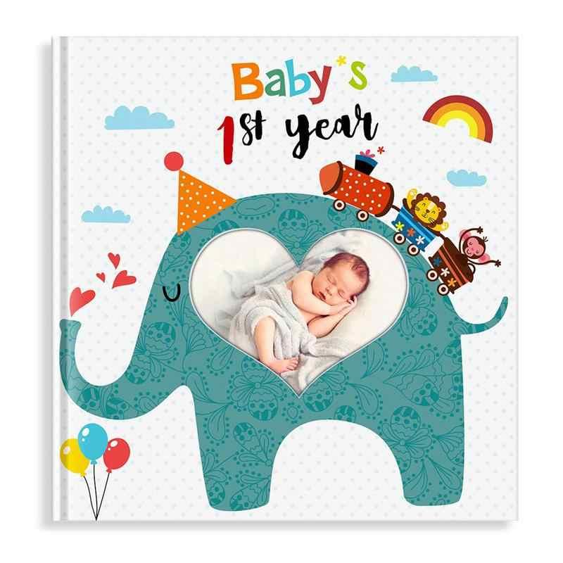 Álbum de fotos diy álbum de fotos álbum de memória mini instantâneo de armazenamento de caso de imagem para bebês da família registro