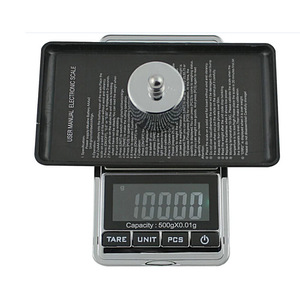Image 2 - 500g/0.01g Electronic Scale Precision Portable Pocket LCD Digital Jewelry Scales Weight Balance Kitchen Gram Scale