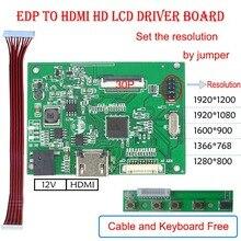EDP LCD драйвер платы для VVX10F011B00 10,1 дюйма 1920*1200