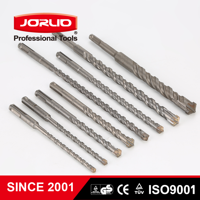 5/6/8/10/12/14/16mm Electric Hammer Drill Bit Double SDS Plus For Masonry Concrete Rock Stone