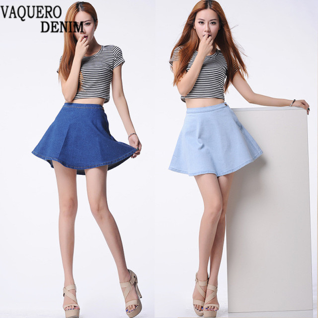 Aliexpress.com : Buy Skater Skirt Hot Sale 2016 Summer Style Denim ...