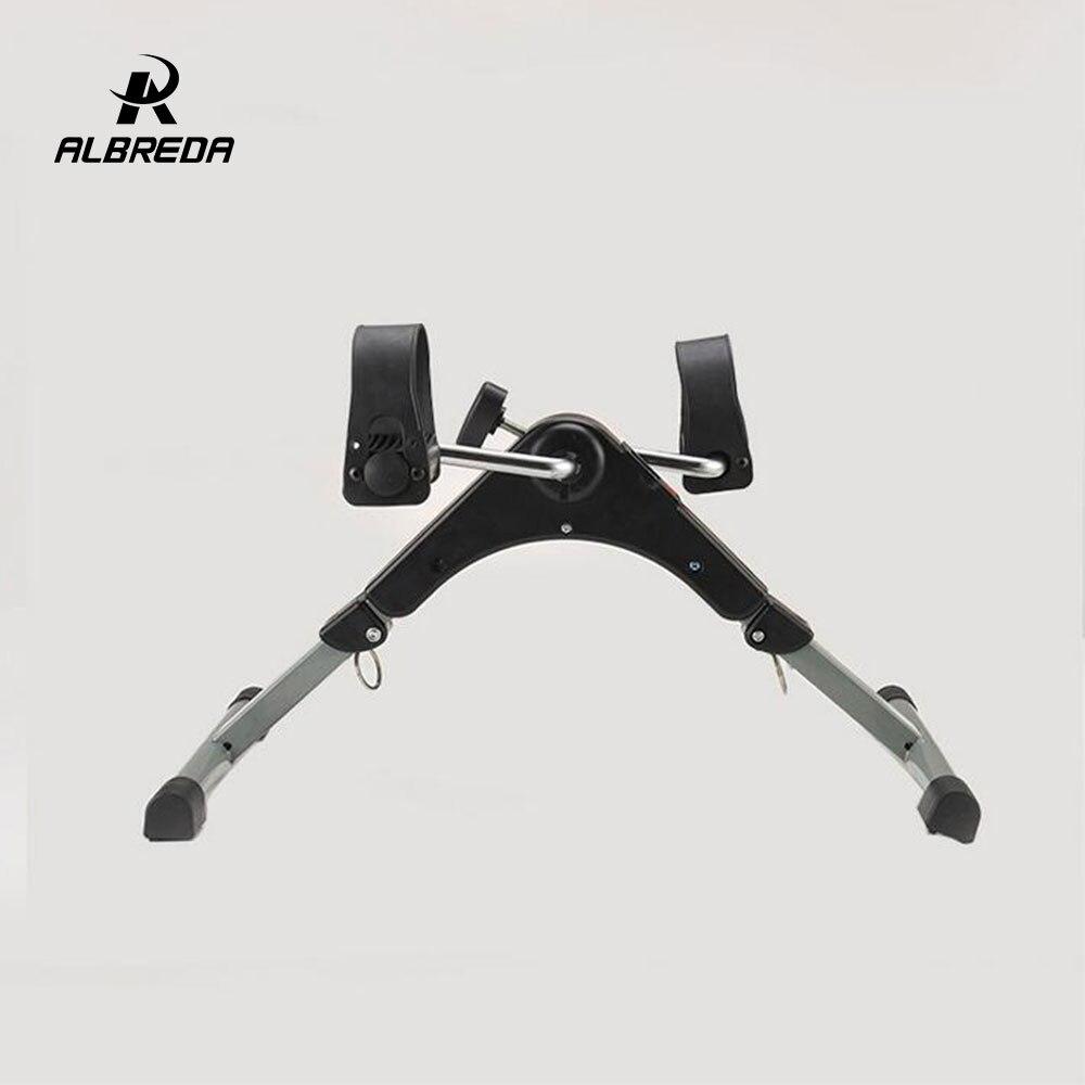 ALBREDA multifonction Mini exercice vélo jambe rééducation formateur machine pas à pas perdre du poids équipement de fitness pour la maison - 4