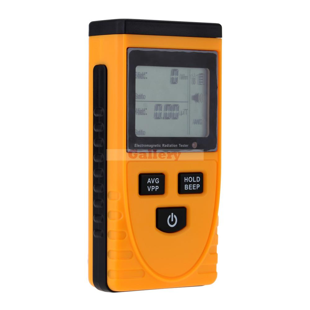 Digital Lcd Electromagnetic Radiation Detector Tester Dosimeter Meter Counter Used Indoor And Outdoor Gm3120 household radiation test pen electromagnetic radiation tester sound and light alarm test pen detection measuring tools