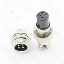 4 Pin Air Plug Connector One Set GX12-4P