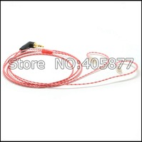 120cm Red Earphone CABLE For Westone W4r UE18 UE18PRO UM3XRC ES5 ES3 UM Unique