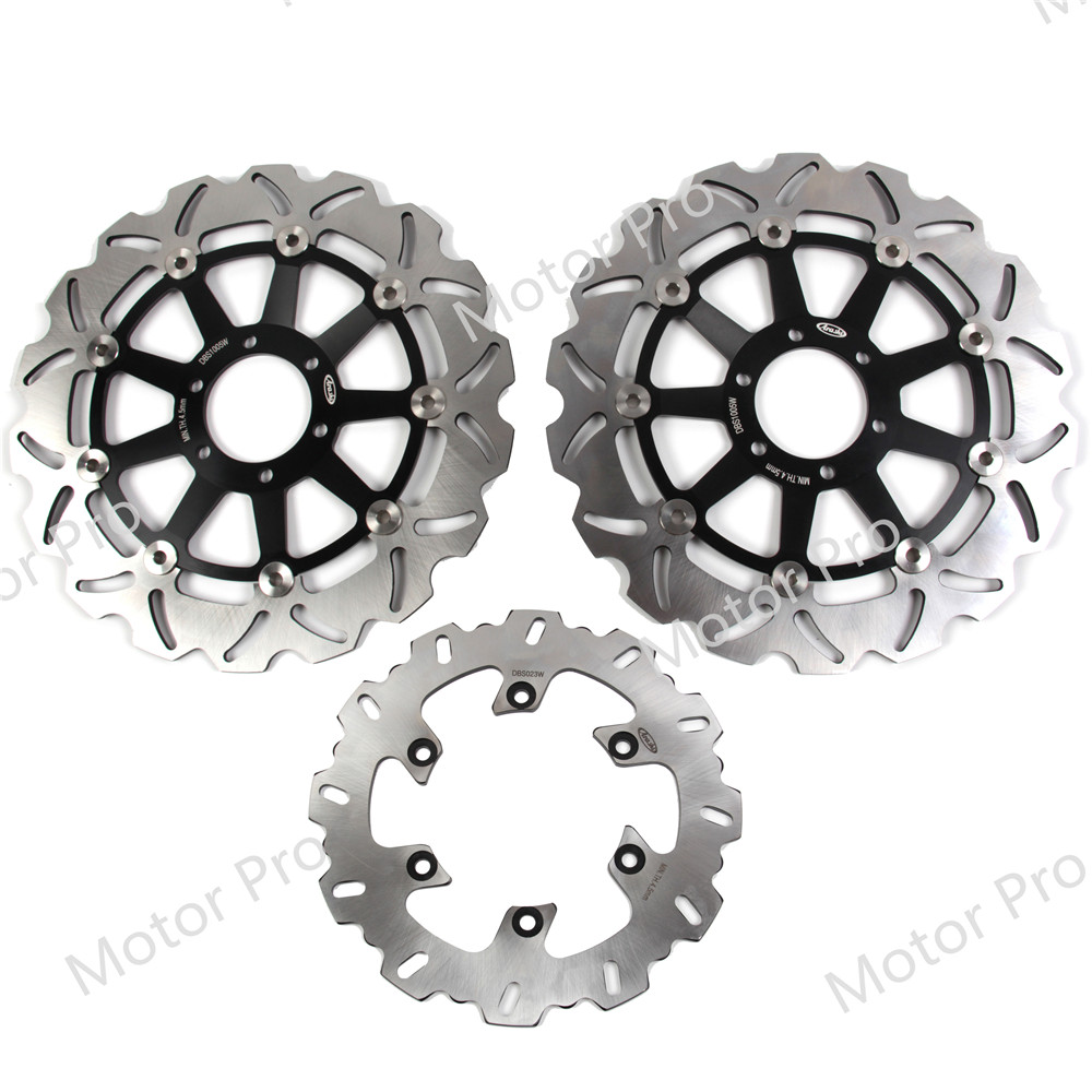 For Yamaha XJR 400 1995 2000 Front Rear Brake Disc Disk Rotor Kit Motorcycle XJR400 1996 1997 1998 1999 FZR600R FZR600 FZR 600