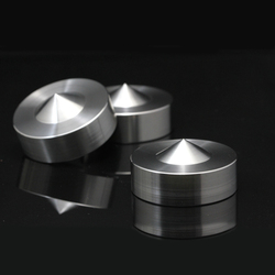 39mm S304 Stainless Steel Speaker Shockproof Spike Amplifier Isolation Stand Feet Holder Damping Nail Base Pad