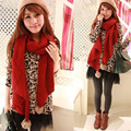 New Lady Pom Pom Scarf Rabbit Fur Ball Candy Colors Scarf Knitted Warm Winter Shawls Women 180*40cm