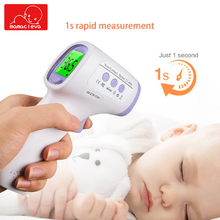 Digital Adult infant Baby Thermometer Infrared Forehead Body Thermometer Non-contact Thermometer Gun for Household Medical multi function non contact infrared forehead body thermometer gun baby care infrared thermometer baby adult digital ir