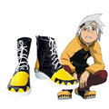 Anime Soul Eater SOULEATER Cosplay Party Shoes Black Fancy Boots Custom Made