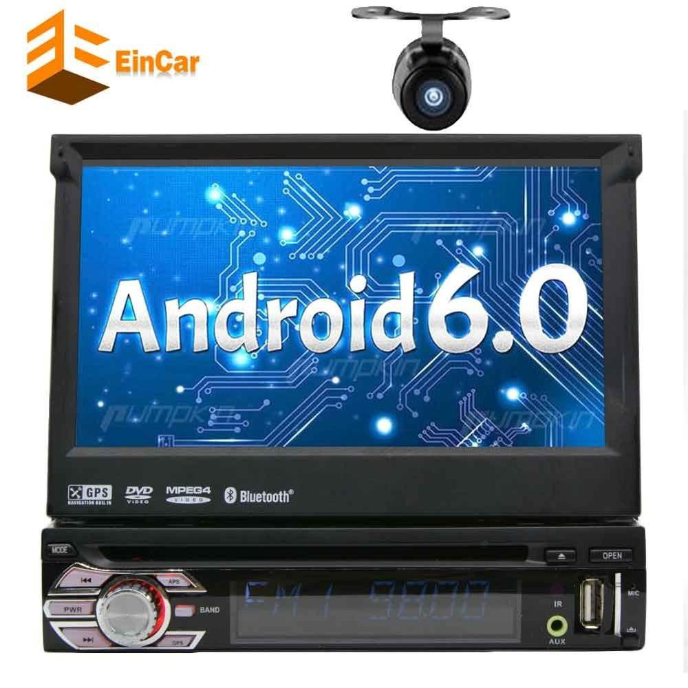 7In Single DIN Android 6.0 Car Dvd Stereo Receiver With