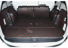 High quality! Special trunk mats for Mitsubishi Pajero Sport 7seats / 5seats 2014-2008 waterproof boot catpets,Free shipping