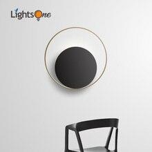 Nordic wand licht kreative persönlichkeit wohnzimmer moderne minimalistischen runde aisle schlafzimmer nacht wand lampe