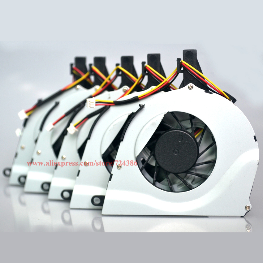 (10pcs/lot)Cooling fan for TOSHIBA Satellite L650 L650D L655 L655D cpu fan Brand new L650 L650D laptop cpu cooling fan cooler