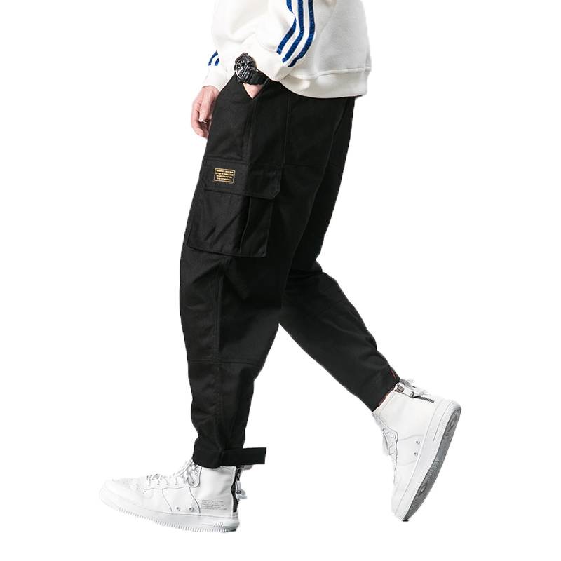 Casual Trousers Pant Punk Street Harem Mens Joggers Male Hip-Hop 5XL Army Hombre