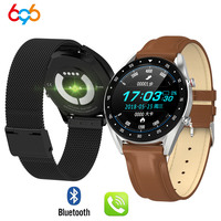 L7 ECG PPG smart watch with electrocardiograph ecg display heart rate monitor blood pressure men smart bracelet PK N58 B57 watch