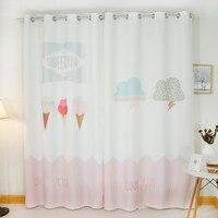 Custom Made 2x Grommet Drapery Drape Curtain Nursery Kids Children Room Window Dressing 200cm X 260cm